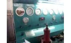 Dory Machinery Safety Valve testing Video