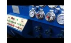 Dory Machinery  Hydraulic Valve test bench Video