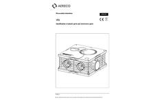 Aereco - Model V5S - Whole House Fan Brochure