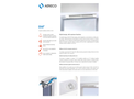 Aereco - Model EHA² - Acoustic Humidity Sensitive Air Inlet for Windows Brochure