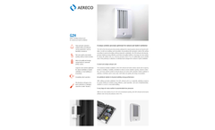 Aereco - Model G2H - Multi-Controlled Exhaust Unit for Natural and Hybrid Ventilation Brochure