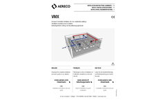 Aereco - Model VMX - Demand Controlled Ventilation System for Tertiary Buildings Brochure