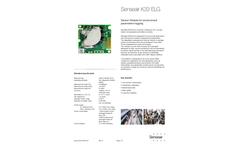 Senseair - Model K33 ELG - Low-Power Module Brochure