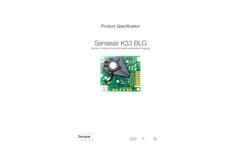 Senseair - Model K33 BLG - Low-Power Module Brochure