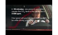 Drowsy drivers are dangerous Video