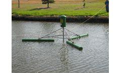 Dagaz Environmental - Model 205, 209, 210, & 211 - Electric Powered Pond Mills Circulators