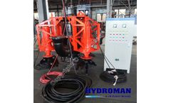 Hydroman™ Submersible Pump with CutterHeads