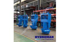 HYDROMAN® Heavy Duty Submersible Agitator Slurry Pumps