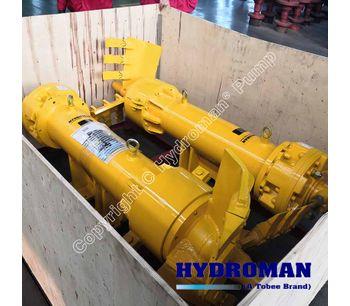 Hydroman®  Hydraulic Side Agitators for Dredging Pump