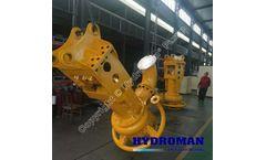 Submersible Hydraulic Dredge Pump