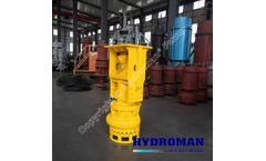 Hydraulic Excavator Slurry Pump
