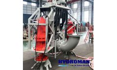 Hydroman™ Heavy Duty Agitator Submersible Slurry Pumps