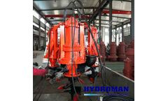 Hydroman™ Hydraulic Submersible Dredging Pump with Side Agitator