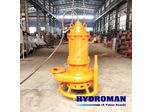 Hydroman™ Submersible dredge pumps with water jet ring