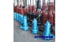 Hydroman™ Submersible draining sewage pump by electric driven