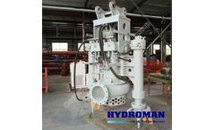 Hydroman™ THY300 Dirillo Reservoir Hydraulic Dredging Pump