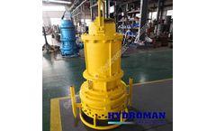 Hydroman™ Bomba de lodo con agitador sumergible eléctrico