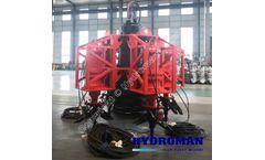 Hydroman™ Bomba de lodos sumergible con agitador eléctrico