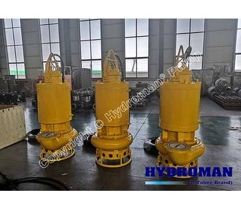 Hydroman™  Electric Submersible Sewage Sludge Pump with Cooling Jacket