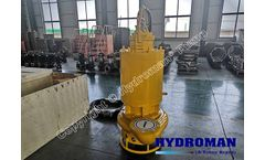 Hydroman™ Electric Submersible Pump for removal of sediments and boards
