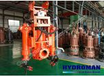 Hydroman™ Hydraulic Submersible Solids Handling Dredging Pumps