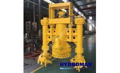 Hydroman™ bomba de grava sumergible con actuador hidráulico