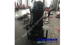 Hydroman™ Submersible Sand Suction Pump with agitator