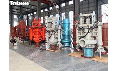 Hydroman Excavator mounted hydraulic dredge pump