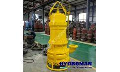 Hydroman submersible slurry pump on sale