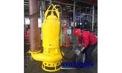 Hydroman™ Agitator submersible slurry dewatering pumps