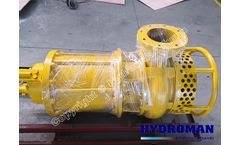 Hydroman™ Submersible type mud pumps with agitator