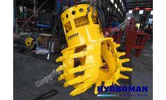 Hydroman™ MixPro™ Hydraulic Head Cutter for Hyraulic Submersible Slurry Pump