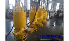 Submersible Cooling Jacket Sewage Sludge Pumps