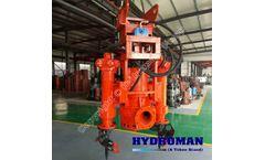 Hydroman Hydraulic Submersible Agitator Dredge Pump