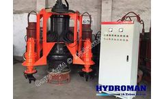 Hydraulic Submersible Dredging Pumps