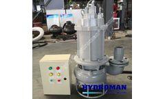 Electric Agitator Submersible Slurry Pump