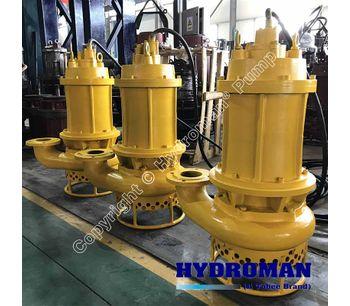 Hydroman™  200TJQ400-50-110 Submersible Slurry Pump with agitators