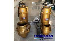 Hydroman™ TWQ-G submersible sewage pump with grinder