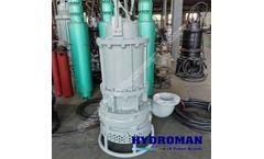 Hydroman™ submersible cutter suction dredger pump
