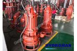 Hydroman - Model tjq - China Vertical Submersible Sand Slurry Pump
