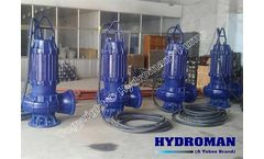 Hydroman™ - Model 3inch - Electric Submersible Sludge Transport Cleaning Pump