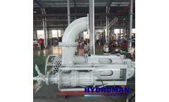 Hydroman™ - Model 400TJQ  - Submersible Heavy Duty Agitator Slurry Pumps