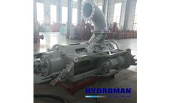 Hydroman™ - two agitator submersible dredging pump