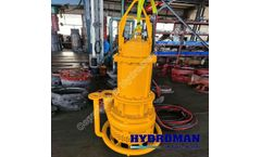 Hydroman™ -  submersible slurry dredging pump plus power jet ring