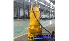 Hydroman™ -  Electric submersible sand agitator pumps