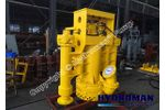 Hydroman™ - Model THY85B - Hydraulic Dredge Pump with two ExPro™-11 side cutters.