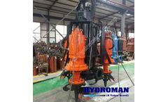Hydroman™ -  Submersible Agitator Slurry Pump with Head Cutters