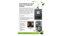 Ambilabs - Test Chamber for Small Sensor & Component Analysis System - Brochure