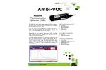 Ambi-VOC - Portable Photoionization Detector (PID) - Brochure