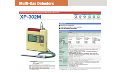 Minerva - Model XP-302M - Portable Mult-Gas Detector Brochure